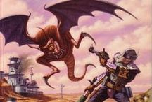 RPG Bookshelf / by Gunnar Bangsmoen