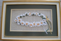 """Ribbon Embroidery-Ribbon Artwork / """"Each day comes bearing its own gifts. Untie the ribbons."""" Ruth Ann Schabacker  / by Linda Scharff"""