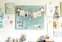 wOrkspace & studiO lOve / InspiratiOn fOr my future in-hOme art studiO . . . / by Stephanie Locke