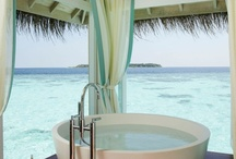 BATH ✵ / indoor or outdoor, bathing should be calming, relaxing & soothing to the soul.  Wash away the stress & recharge.... / by Style♦Dwell