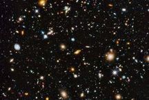 Hubble Telescope & Edwin Hubble / Significant leaps in our knowledge of the universe can be attributed to the data acquired by the Hubble Telescope. / by Susan M