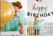 Birthday Party Time / Happy Birthday, little one! / by BabyZone