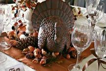 Holidays- Thanksgiving  / Thanksgiving Ideas and Inspiration  Decor, style, DIY crafts, decorating photos, recipes  / by Frosted Events