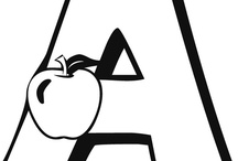 ..A a.. / by Creative Classrooms: Lesson Plan Ideas for Early Childhood Education Teachers, Caregivers, and Parents