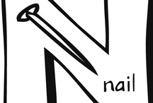 ..N n.. / by Creative Classrooms: Lesson Plan Ideas for Early Childhood Education Teachers, Caregivers, and Parents