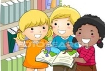 ...LIBRARY... / by Creative Classrooms: Lesson Plan Ideas for Early Childhood Education Teachers, Caregivers, and Parents