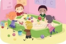 ...SENSORY TABLE... / by Creative Classrooms: Lesson Plan Ideas for Early Childhood Education Teachers, Caregivers, and Parents