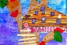 Elementary Art | Mixed Media / by Lauren Mann