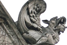 Gargoyles, Angels, Greenmen and such / by Pamela Pincha-Wagener