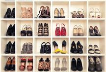 closet organization Inspiration / creative ways to store clothes and things / by Sharon Haver - FocusOnStyle.com