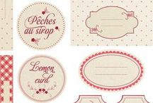 Printables and Typography / by Mona Schott
