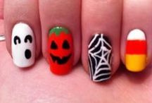 Nail art: Halloween  / by Kim P