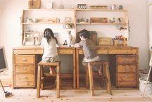 workspace / by Piper Quinn