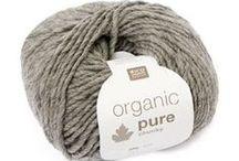 Organic yarns / Organic yarns for knitting and crochet / by Julie Taylor