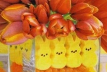 EASTER TABLE DECORATIONS / by Joan Kingery