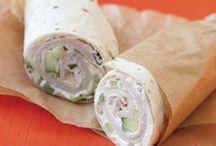 Sandwiches/wraps / by Brianna W