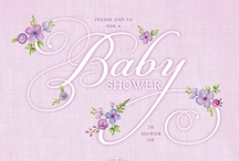Lavender themed baby shower  / by Marggy Gabriel