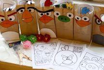 angry bird birthday party / by Jessie Stemm