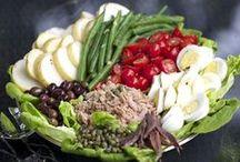 Salads / Healthy, Yummy Salads!! / by Ginna Germain Basile          (Mesuki58)