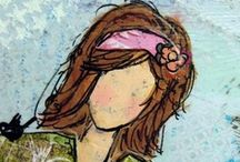 She Art/Mixed Media / by Kathy Vetters