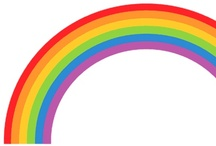 Live in Rainbow! / Dream in color, LIVE in rainbow!! / by Tera Belinsky-Yoder