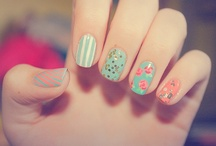 katie and mama's nails / by Michelle Connor