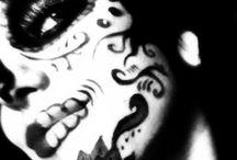 Fascination with masks / Dia de Los muertos / by Kat Aguirre