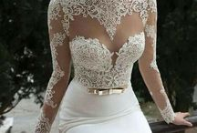 Lace Wedding Dresses / by The American Wedding