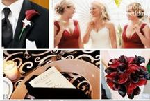 Red, White & Black Wedding / by The American Wedding