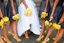 Grey & Yellow Wedding / by The American Wedding