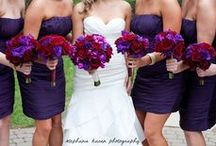 Plum & Red Wedding / by The American Wedding