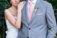 Blush Pink & Grey Wedding / by The American Wedding