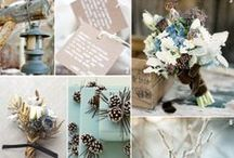 Blue Winter Wedding / by The American Wedding