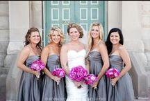 Fuchsia & Grey Wedding / by The American Wedding