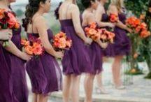 Purple & Orange Wedding / by The American Wedding