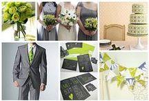 Chartreuse & Grey Wedding / by The American Wedding
