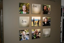 HOME-DECORATING WALLS WITH PICTURES / by Joanne Erickson