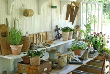 Garden Ideas / Ideas for getting your vegetable and flower gardens looking good. Plus plenty of inspirational eye-candy - you know, those gardens that make you sigh when you see them! / by Jami Boys- An Oregon Cottage
