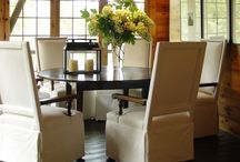 dining spaces / by Kim Goslee