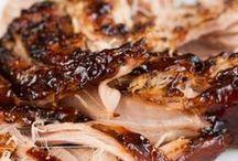 Pork Recipes / Bacon, Pork roast, Pulled Pork, Pork BBQ, Kielbasa, Pork Chops, Hot Dogs,  / by MaryJane Perry Hall