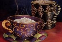 Java Junkie / I am a COFFEE lover and love anything coffee flavored, like coffee yogurt, coffee candy & coffee ice cream / by MaryJane Perry Hall