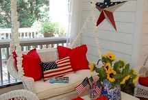 Red, White, & Blue / Decor USA / by Tammi Pinaholic