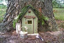 Fairies  / Fairy Dwellings / by Tammi Pinaholic