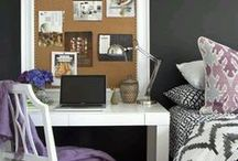 Dorm room chic / College style / by Whitney Anderson