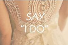 "Say ""I Do""  / by Amrita Singh Jewelry"