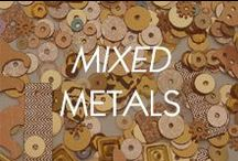 Mixed Metals / by Amrita Singh Jewelry