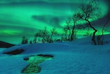 "Beautiful Skies / Beautiful Skies: ""Skyscape"" photographs #clouds, #lightening, #sunset, #sunrise, #aurora #rainbows, #storms #fireworks #moon   / by Carolyn Sorensen"