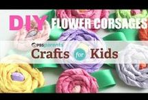 Crafts for Kids Videos  / Find awesome ideas for cool crafts from our web series featuring Salsa Pie Blog. / by PBS Parents