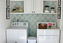 Laundry Room Makeover Ideas / by Tracy López