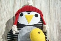 Plushie Animals / Animals and creations that I love. Plushie, Stuffed animals, Homemade, Stuffies.  / by Becky Jorgensen
